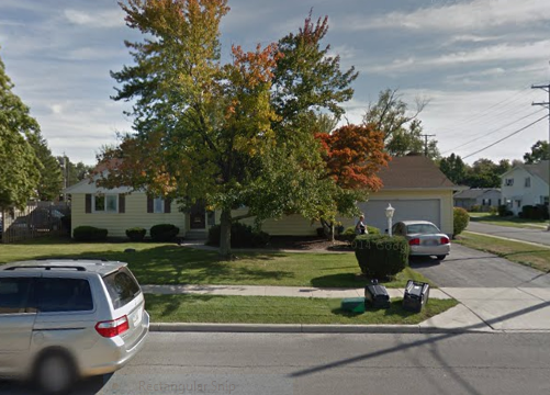 photo of the outside of 135 Highland Drive from Google Street View